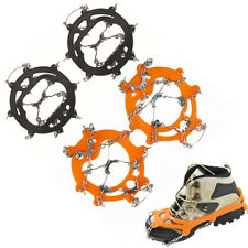 Snow Ice Traction Cleats Boots Overshoes Spikes Studded Cover for Walking Hiking