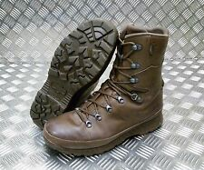 Genuine British Army Haix Goretex Lined Leather Cold Weather Combat Boots