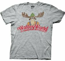 Adult Gray Comedy Movie Lampoon's Christmas Vacation Walley World T-Shirt Tee