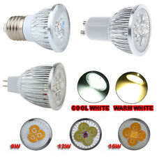 Ultra Bright LED 9W 12W 15W GU10 MR16 E27 Light Bulb Spot Lamp COOL WARM WHITE