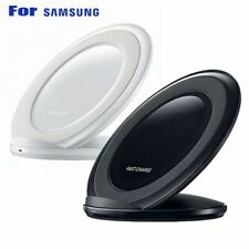 Fast Wireless Charger Charging Pad Stand For Samsung Galaxy Note8 S7 S8 iPhone