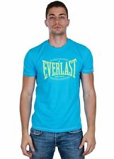 EVERLAST - T-SHIRT  JERSEY BASIC LOGO - 16M017J29-3E00 - TURCHESE HAWAII