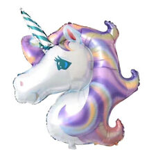 Funny Inflatable Foil Helium Balloons Kids Party Horse Unicorn Flamingo Gift Toy