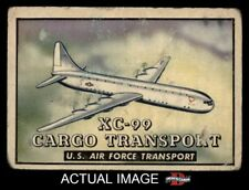 1952 Topps Wings #126 XC-99 Cargo transport FAIR