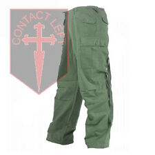 New Mens Rip-Stop Olive Green Combat M65 TROUSERS All Sizes High Qualität
