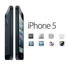 New in Box APPLE iPhone 5 Black White 4G GSM Factory Unlocked Smartphone GG77