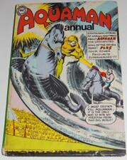 AQAUMAN ANNUAL-DC COMICS UK-1967-SCARCE SILVER AGE-BATMAN-SUPERMAN~INFANTINO