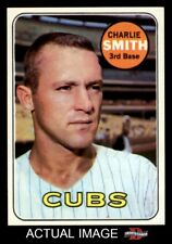 1969 Topps #538 Charlie Smith Cubs NM/MT