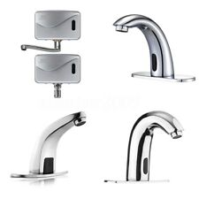 Bathroom Automatic Electronic Sensor Touchless Faucet Hands Free Vessel Sink Tap