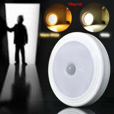 5LED Auto Motion Sensor Detector PIR Infrared Home Night Light Lamp With Magnet