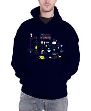 The Big Bang Theory Hoodie Friendship Minions Algorithm Official Mens Navy