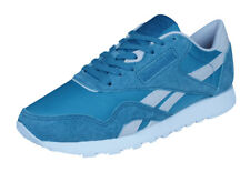 Reebok Classic Nylon X Face Womens Trainers / Casual Sports Shoes - Blue