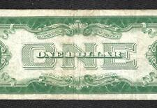 1928A $1 Silver Certificate! *FUNNY BACK* VF! Old US Paper Money!