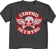 Toddler Lynyrd Skynyrd T-Shirt 70s Rock Band Baby Boys Top Charcoal Size 12M 18M