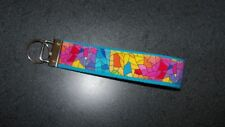 Stained Glass Cotton Fabric Key chain & Coin Change Purse