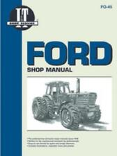 I&T Tractor Workhop Manual Ford TW-5, TW-15, TW-25 TW-35 Service Repair Manual