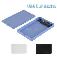 "USB 3.0 2.5"" SSD HDD External Enclosure Case Hard Disk Drive Box Tool-free A2P4"