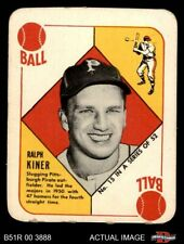 1951 Topps Red Back #15 Ralph Kiner Pirates VG/EX