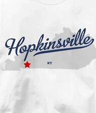 Hopkinsville, Kentucky KY MAP Souvenir T Shirt All Sizes & Colors