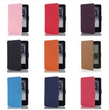 Smart Magnetic Wake /Sleep Case Cover For Amazon Kindle Paperwhite PU Leather