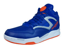 Reebok Pump Omni Lite Mens Leather Hi Top Trainers / Sneakers - Blue