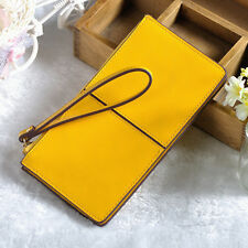 New Wristlet Wallet High Quality Genuine Leather Zipper Clutch Wallets Purse