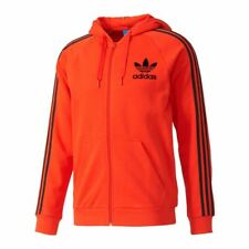 adidas ORIGINALS CALIFORNIA FULL ZIP HOODED JACKET RED TRACK TOP RETRO HOODIE