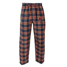 Chicago Bears Pajama Pants Men's NFL Roster Flannel Plaid Lounge Bottoms Sleep