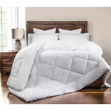 Ultra Soft and Eco-friendly Down Alternative Comforter White