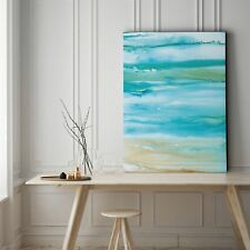 Coastal Abstract I - Gallery Wrapped Canvas