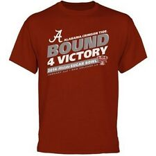 Alabama Crimson Tide 2014 Sugar Bowl Bound t-shirt NWT Roll Tide Bama Football