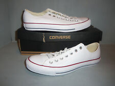 Converse Chuck Taylor® Mens All Star® Leather Ox White NIB sizes #132173C