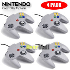 4 X Grey Long Handle Controller Pad Joystick for Nintendo 64 N64 System USA Ship