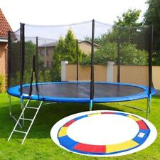 10/12/14/15FT Trampoline Replacement Safety Pad Spring Round Frame Pad Cover TOP
