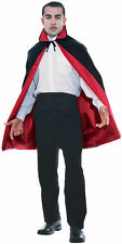 Reversible Taffeta Cape Vampire Dracula Black Red Gothic Costume Accessory
