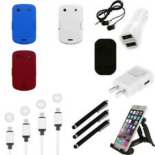 For BlackBerry Bold Touch 9900 9330 Hard Matte Holster Clip 2-Piece Case Charger