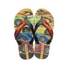 Ipanema Hot Wheels Tyre Kids Flip Flops / Sandals - Black - Worldwide Shipping