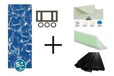 Above Ground Sunlight Height Swimming Pool Overlap Liner w/ Cove & Guard Pad