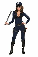 Sexy Traffic Stopping Cop Police Officer Woman Jumpsuit Adult Womens Costume