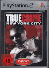 True Crime - New York City  (PS2 Platinum)