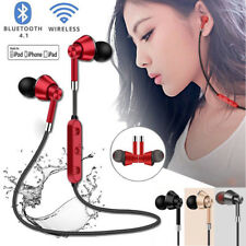Earphone With Mic V4.1 Wireless Bluetooth Stereo Sport Music In-Ear Headset lot