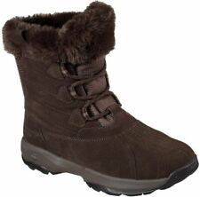 Skechers GOwalk Outdoors Chilly Womens Lace Up Mid Calf Boots