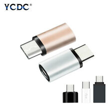 Alloy/PC OTG Type C To Micro USB Adapter Data Sync Charging USB-C Converter 273