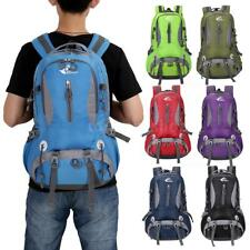 40L Water Resistant Hiking Camping Backpack