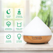 Ultrasonic Aroma Diffuser Mist Humidifier Auto Shut-Off Time Built Variable CHZ