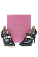 Lella Baldi Shoes Pumps Leather MADE IN ITALY Woman Blacks D7536