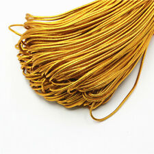 1.5mm Gold Thread Nylon Elastic Line Cord Ropes Line Wire DIY Jewelry Making