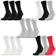 Under Armour Mens Charged Cotton 2.0 Crew Socks 6 Pairs - Fitness Training Sport