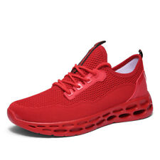 Mens Flyknit Casual Boots Sports Sneakers Shoes Running Honeycomb Gym Breathable