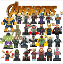 New Super Heroes Marvel Avengers Hank pym Building Blocks Bricks Minfigured Toy